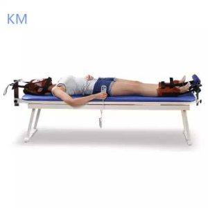 Medical Equipment of Physiotherapy Traction Bed Automatic Traction Beds with Adjustable Height Function