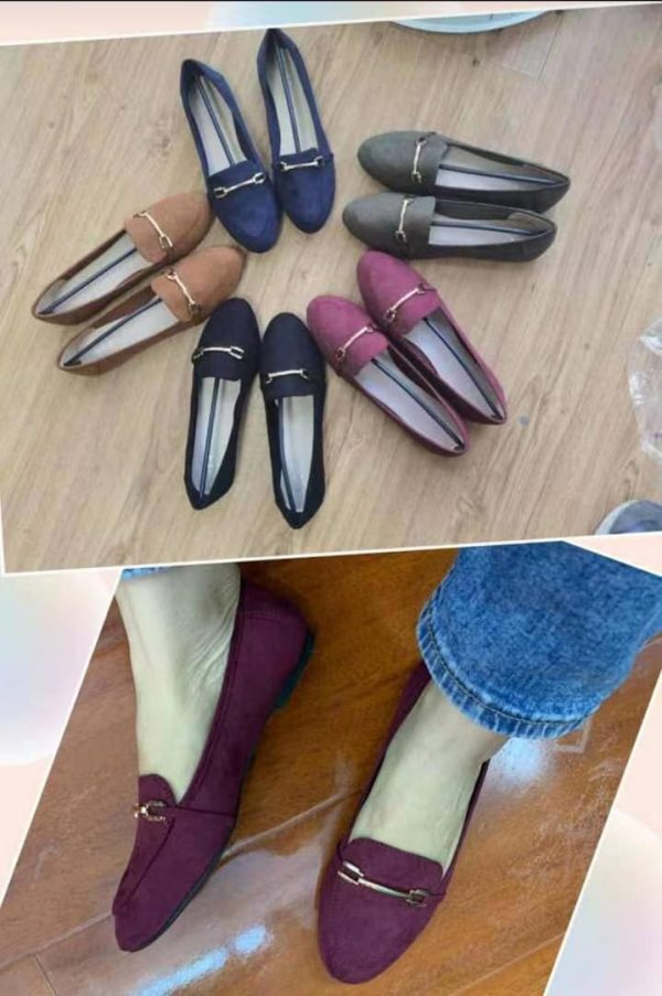 Ladies Casual Formal Simple Flat Shoes