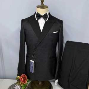 MALIGAN DOUBLE BREASTED 2 PIECE TURKISH SUIT